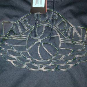 NWT Air Jordan basketball hoodie mens XXL